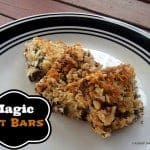 Gluten-Free Magic Oat Bars