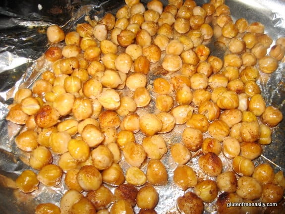 Simple Roasted Chickpeas [from GlutenFreeEasily.com]