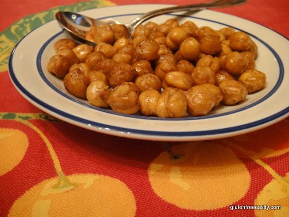 Simple Roasted Chickpeas [from GlutenFreeEasily.com]