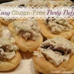 These Elegant and Easy Gluten-Free Party Puffs are so easy to make that you won't believe it, but they make any host look like a culinary whiz! So good. [from GlutenFreeEasily.com]
