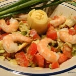 Melanie of Gluten-Free Krums and Avocado Artichoke Salsa