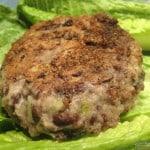 best veggie burger, gluten free, dairy free, black beans, blackened, gluten-free veggie burger, dairy-free veggie burger