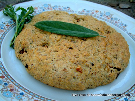 Golden Flax Bread--a wonderful presentation and a delicious gluten-free and grain-free bread to enjoy!