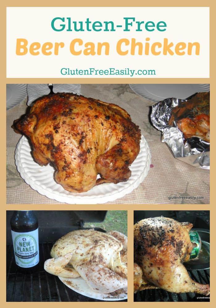 Gluten-Free Beer Can Chicken at Gluten Free Easily
