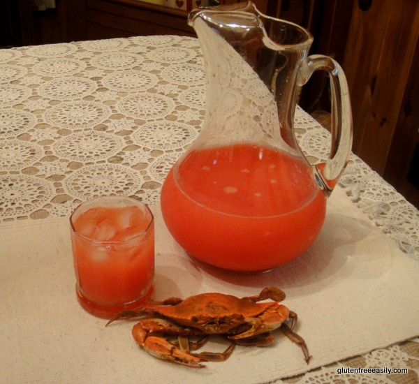 Crab Claws--The Ultimate Summer Cocktail [from GlutenFreeEasily.com]