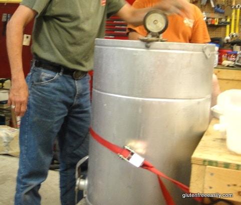 Honey-Spinning Centrifuge