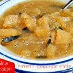 Easy Slow Cooker Potato-Zucchini Soup