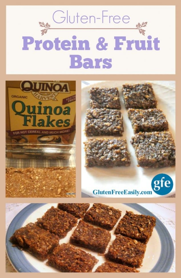 Gluten-Free Popeye Protein and Fruit Bars