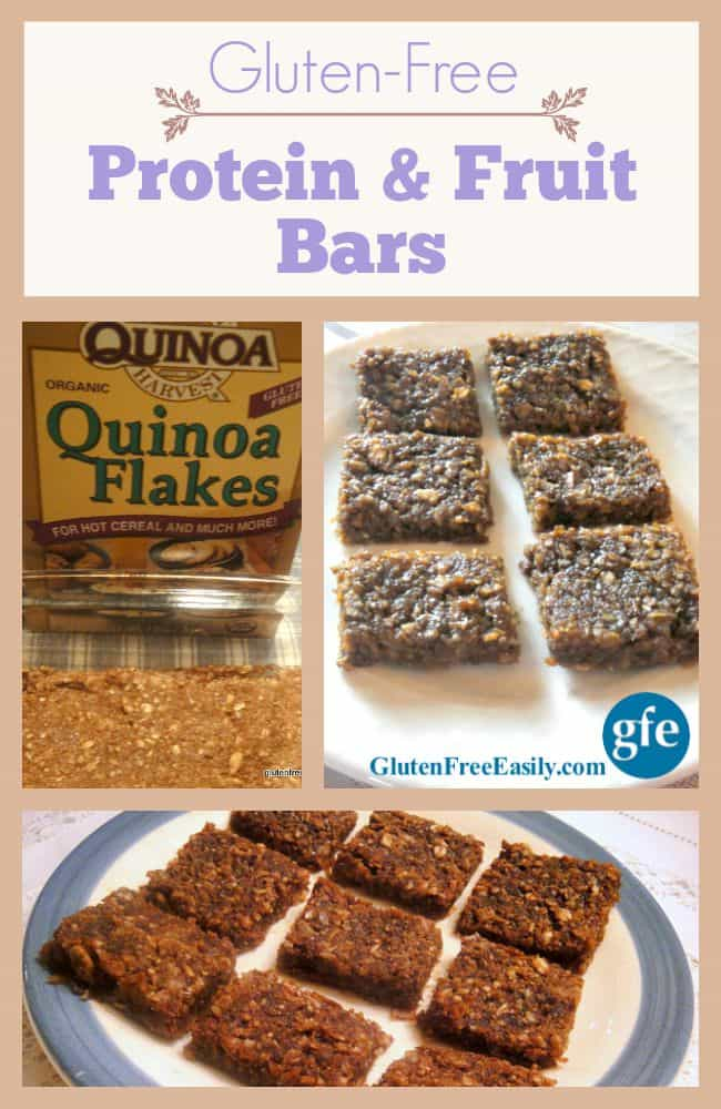 Gluten-Free Popeye Protein and Fruit Bars at GlutenFreeEasily.com
