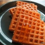 Breakfast Waffles, Sandwich Waffles, and Iris at The Daily Dietribe