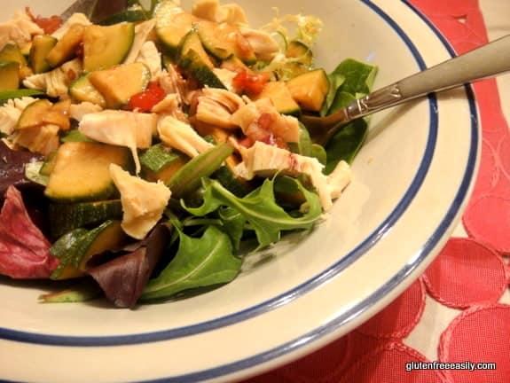 Fresh Zucchini Toss [from GlutenFreeEasily.com]