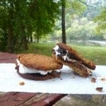 Gluten-Free Cookie S'mores! Use your favorite gluten-free cookie instead of graham crackers to make these divine treats. So much better than regular S'mores! (from GlutenFreeEasily.com)
