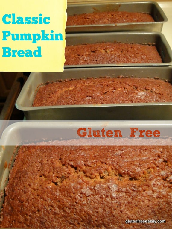 Gluten-Free Pumpkin Bread Gluten Free Easily