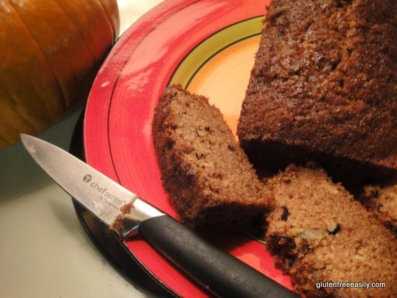 Gluten-Free Pumpkin Bread Slices Gluten Free Easily