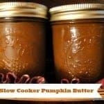 Pumpkin Butter made in your slow cooker. Totally amazing! Spread it on bread, or use it as the base of delectable dessert recipes or for some extra flavor in a savory recipe. [from GlutenFreeEasily.com] (photo)