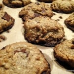 Ricki Heller's (Diet, Dessert & Dogs) Cashew Chocolate Chip Cookies & Chia Pudding