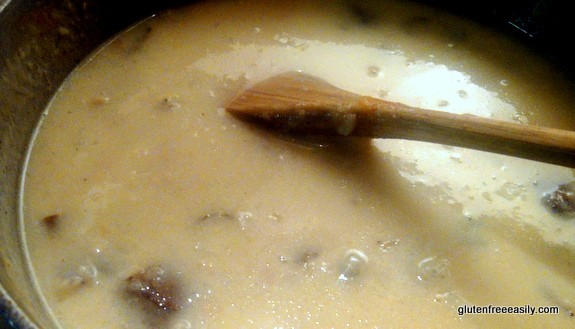 gluten free, dairy free, clam chowder, easy, quick