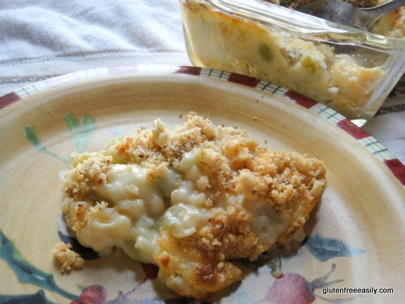 Gluten Free Corn and Butter Bean Lima Bean Casserole at Gluten Free Easily