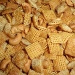 gluten free, snack mix, sweet and crunchy, Chex mix, recipe