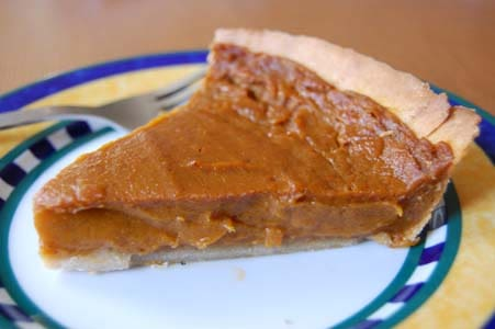 Gluten-Free Dairy-Free Pumpkin Pie from Book of Yum
