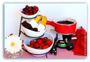 Gluten-Free Dairy-Free Chocolate Fondue by Cook IT Allergy Free