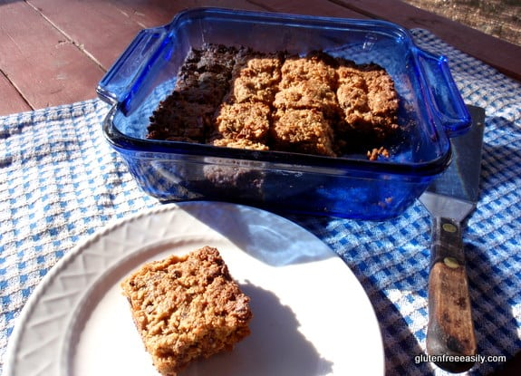 "These Chewy Granola Bars Gluten Free and More Free really do offer just the right amount of chewiness without being dry like store-bought bars. Plus they are gluten free, dairy free, and refined sugar free, and easily adaptable to ""more free""! (photo)"
