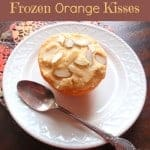 Frozen Orange Kiss Dessert (Dairy Free)