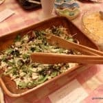 Kathi's Great Salad with Poppy Seed Dressing is fabulous for any occasion. It will convert non-salad lovers to salad fans and it can easily be made when you arrive at your destination. (photo)