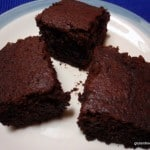 Simple and Good Chocolate Cake (Gluten Free, Vegan)