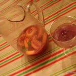 Homemade Sangria is the best! It's an inexpensive way to serve a group at celebrations like Cinco de Mayo, New Year's, summer events, and more. [from GlutenFreeEasily.com] (photo)