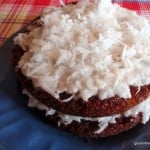 Pineapple Layer Cake with Maple Coconut Cream Frosting