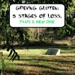 Grieving Gluten: The Five Stages of Loss of Gluten Plus a New One