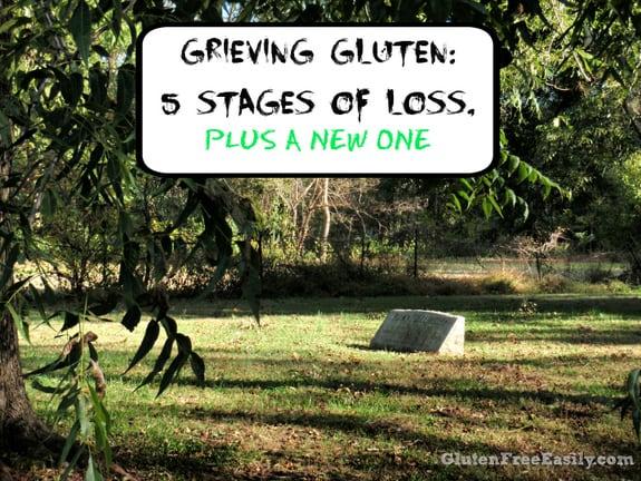 Grieving Gluten Poster Gluten Free Easily Gluten Loss Going Gluten Free