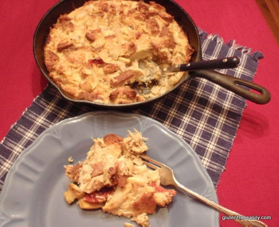 Savory Chicken Clafoutis. Savory Lemon-Kissed, Sun-Dried Tomato Artichoke Chicken Clafoutis to be exact. [from GlutenFreeEasily.com] (photo)