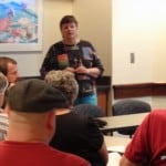 August 16, 2011 Shirley Presenting at CharlottesVILLI Celiac Support Group Meeting