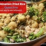 Put Chinese food back on the table AND clean out your fridge with this fantastic Gluten-Free Combination Fried Rice! [from GlutenFreeEasily.com] (photo)