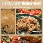 Homemade Hamburger Helper-Roni