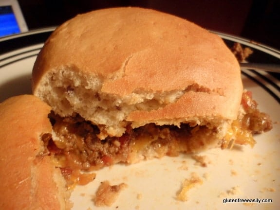 How to make gluten-free Homemade Sloppy Joes without a mix. Yes, unprocessed! Doesn't this homemade Sloppy Joe look delicious?