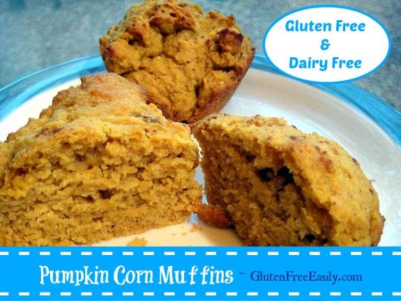 Gluten-Free Pumpkin Gluten-Free Dairy-Free Corn Muffins Gluten Free Easily