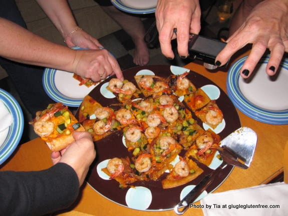gluten free, dairy free, refined sugar free, pizza, travel, oceanside, california