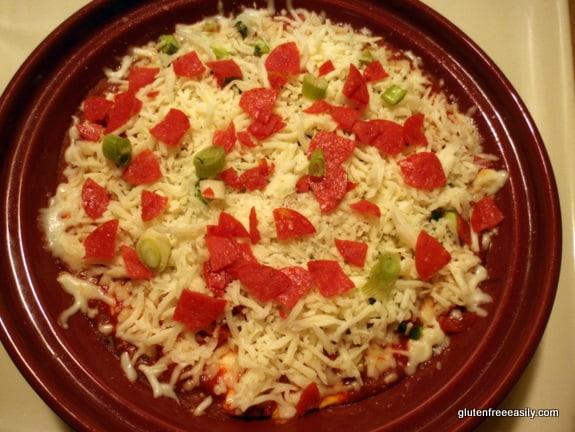 Gluten-Free Pizza Dip at Gluten Free Easily