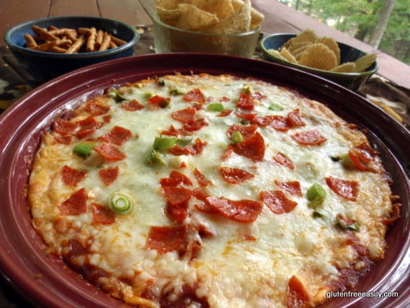 Gluten-Free Pizza Dip at Gluten Free Easily