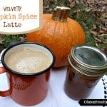 Velvety Pumpkin Spice Latte. A kid-friendly naturally gluten-free and dairy-free version that even adults will love. Feel free to add a little coffee to your version. [from GlutenFreeEasily.com]