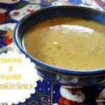 This naturally gluten-free Velvety Pumpkin Soup comes together so quickly and I love its savory, yet slightly sweet flavor. [from GlutenFreeEasily.com]