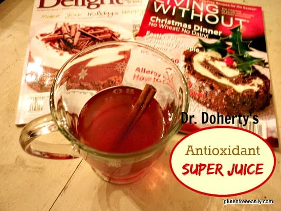 Dr. Doherty's Antioxidant Super Juice Gluten Free Easily