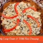 Crunchy Long Grain and Wild Rice Dressing