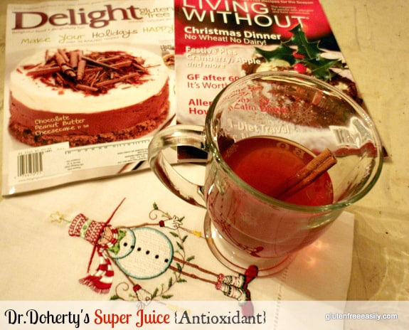 Antioxidant Super Juice Gluten Free Easily Gluten Free Dairy Free Sugar Free