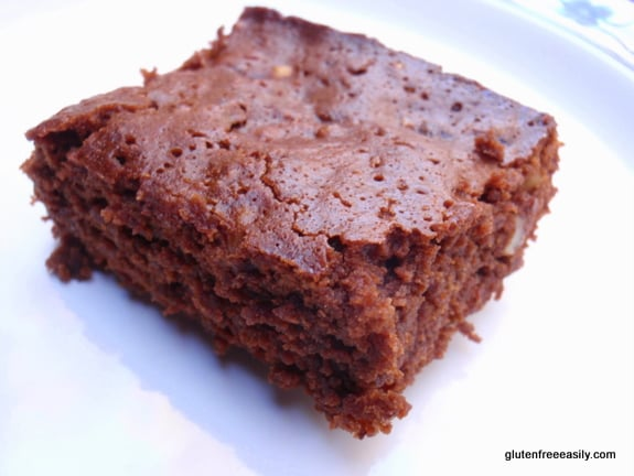 Gluten-Free Honeybear Brownies. [from GlutenFreeEasily.com]