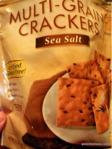 Gluten-Free Crunchy Long Grain and Wild Rice Dressing (Crunchmaster Crackers) Gluten Free Easily