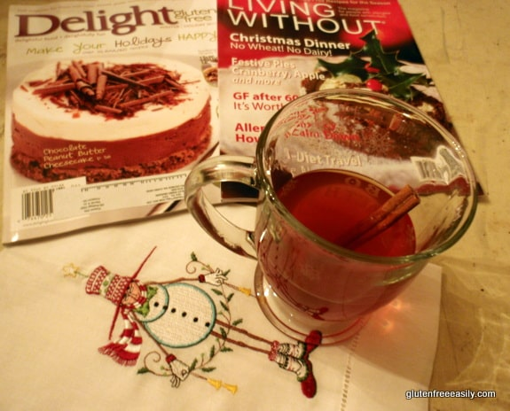 gluten free, dairy free, antioxidants, pomegranates, cranberries, green tea, cinnamon, recovery from gluten